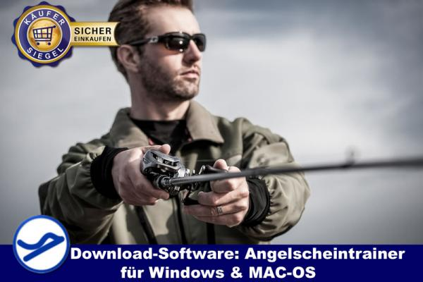 Angelscheintrainer - Downloadprodukt  für Windows & MAC-OS {{Downloadversion}}