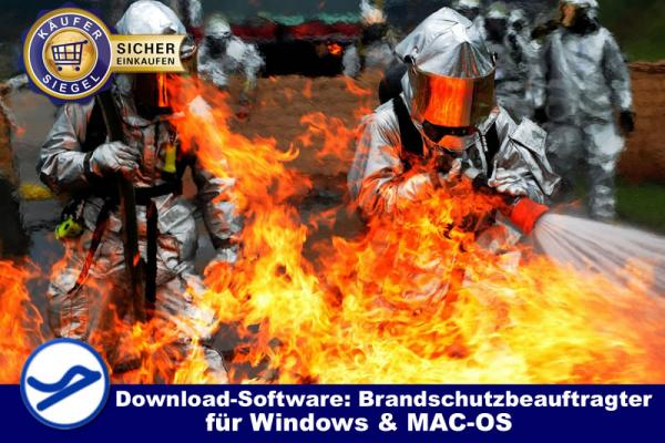 Download-Software: Brandschutzbeauftragter (Win/MAC-OS) {{Downloadversion}}