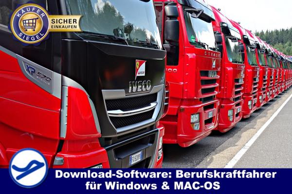 Download-Software: Berufskraftfahrer (WIN/MAC-OS) {{Downloadversion}}