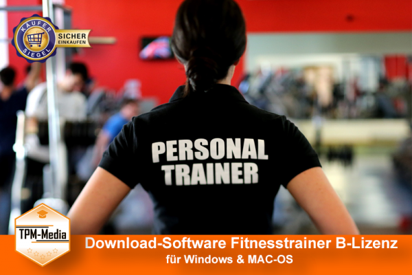 Download-Software: Fitnesstrainer B-Lizenz (WIN/MAC-OS) {{Download-Software}}