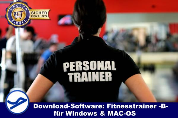 Download-Software: Fitnesstrainer B-Lizenz (WIN/MAC-OS) {{Downloadversion}}