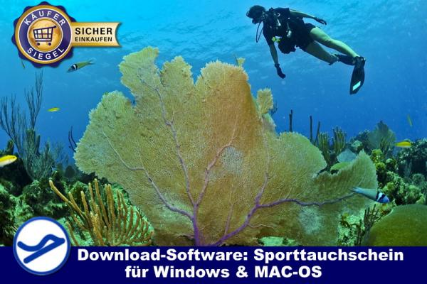 Download-Software Sporttauchschein (WIN/MAC-OS) {{Downloadversion}}