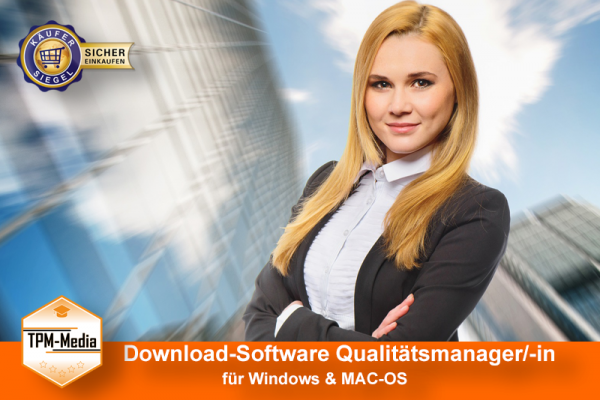 Download-Software:  Qualitätsmanager / -in (Win/MAC-OS)  {{Download-Software}}