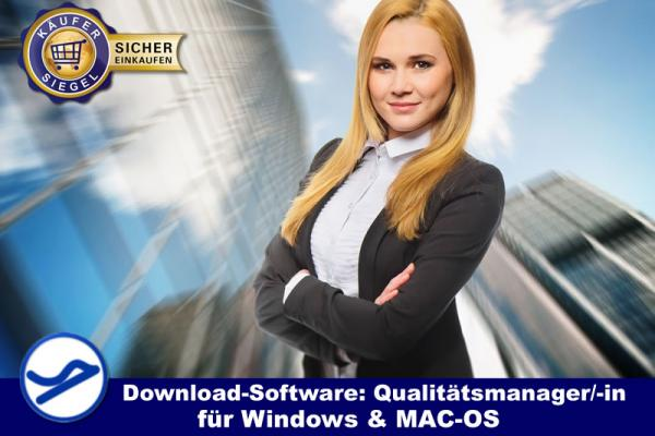 Download-Software:  Qualitätsmanager / -in (Win/MAC-OS)  {{Downloadversion}}