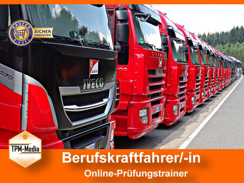 Berufskraftfahrer/-in Online-Prüfungstrainer