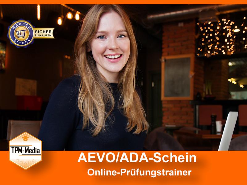 AEVO/ADA-Schein (Online-Prüfungstrainer)