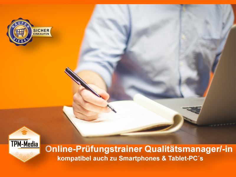Online-Prüfungstrainer Qualitätsmanager