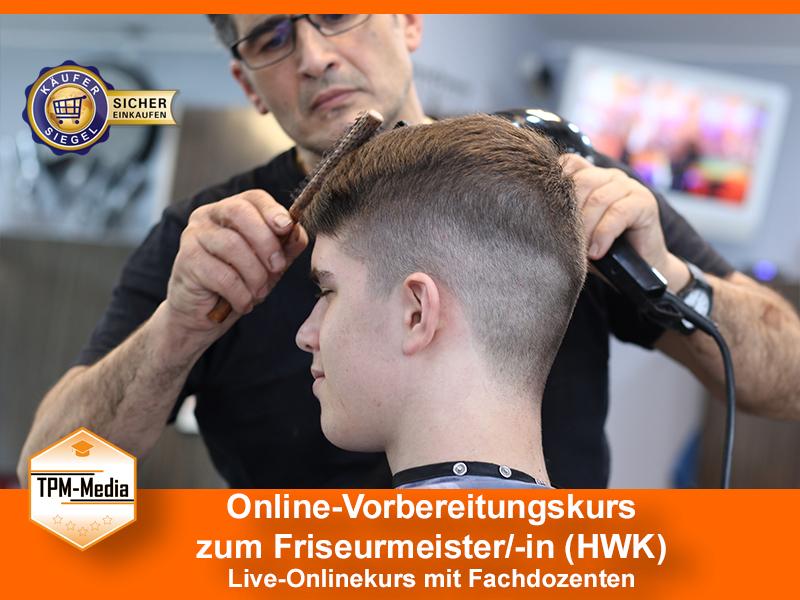 Online-Livekurse zum Friseurmeister/-in