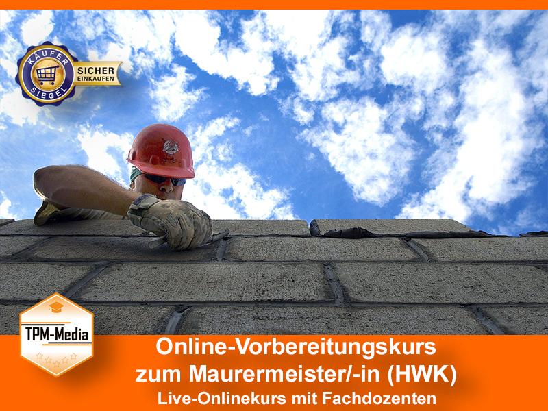 Online-Livekurse zum Maurermeister