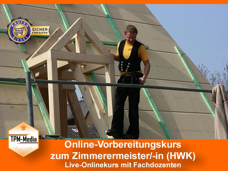 Online-Livekurs zum Zimmerermeister/-in
