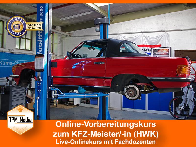 Online-Livekurse zum KFZ-Meister/-in mit Fachdozenten