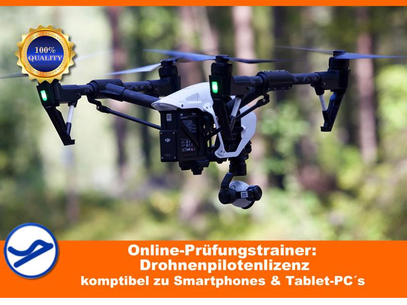 Drohnenlizenz-Fragenkatalogtrainer