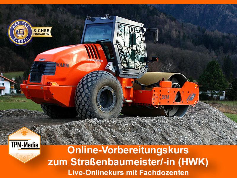 Online-Livekurse zum Strassenbaumeister/-in