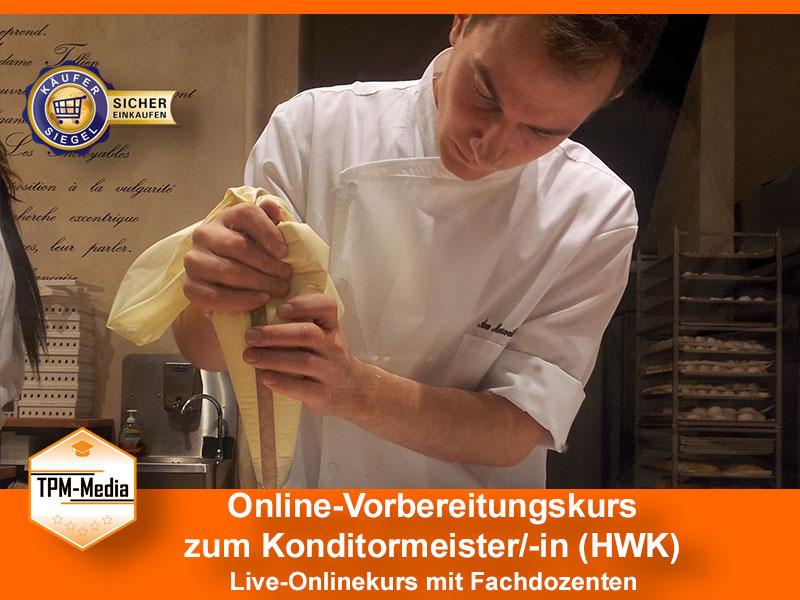 Online-Livekurse zum Konditormeister/-in