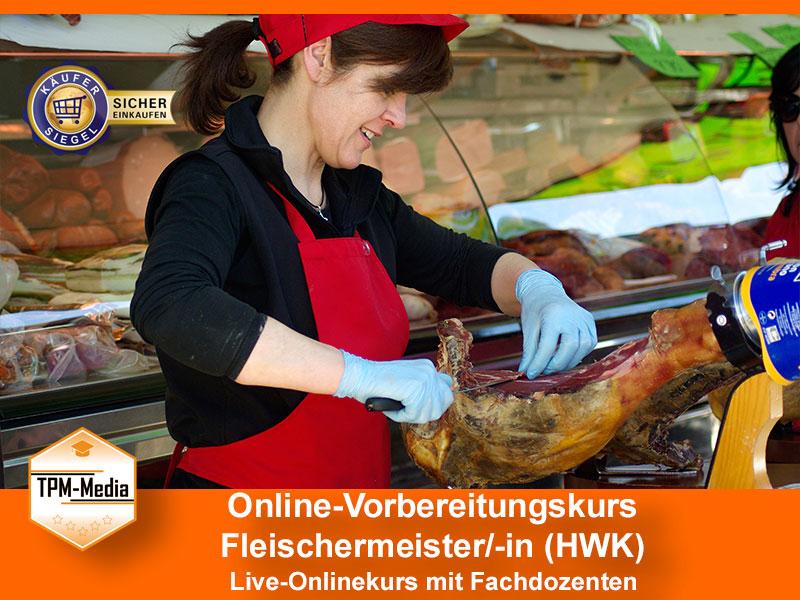 Online-Livekurse zum Fleischermeister/-in