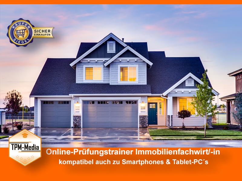 Online-Fragenkatalogtrainer Immobilienfachwirt/-in